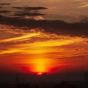 Sonnenaufgang in Hamburg - Elbphilharmonie