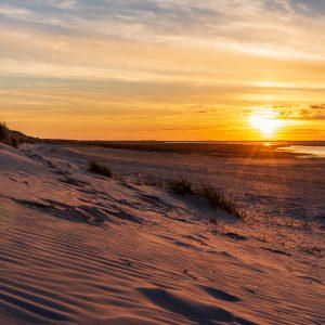 Unterwegs auf Ameland - Sonnenuntergang