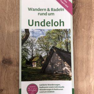 Wandern in Undeloh - Vorderseite Flyer 1