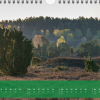 """Monatsbild April des Kalenders """"5 Jahreszeiten der Heide"""""""