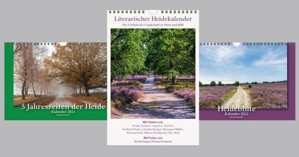 Produktbild Heidekalender 2022 Paket